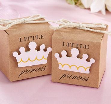 Kraft Little Princess Favor Boxes 24ct