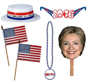 Hilary Clinton Accessory Kit