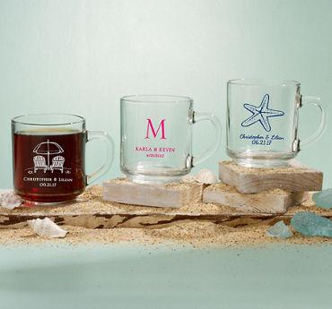 Personalized Glass Coffee Mugs (Printed Glass)