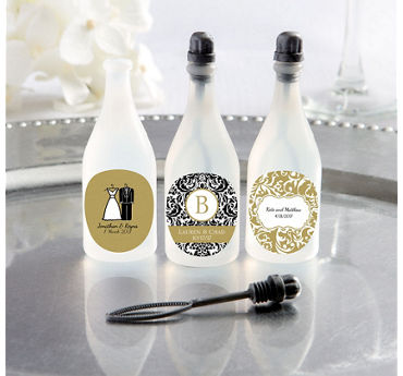 Personalized Wedding Bubbles (Printed Label)