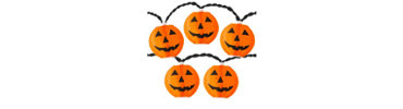Electric Pumpkin Lights 11ft