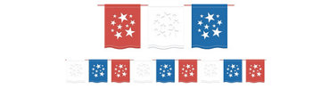 American Summer Flag Banner 12ft