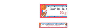 Little Champs Custom Birthday Banner 6ft