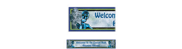 Creepy Bones Custom Halloween Banner 6ft