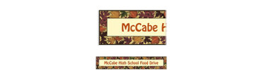 Autumn Medley Custom Banner 6ft