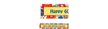 Floral Splash Custom Banner 6ft