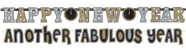 New Years Banner Combo Pack 10ft 2pc