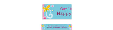 Dazzling Butterfly Custom Banner 6ft