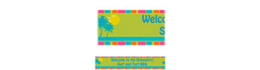 Summer Dreams Custom Banner 6ft