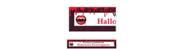 Fangtastic Custom Halloween Banner 6ft