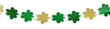 Shamrock Ring Garland 9ft