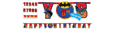 Add an Age Batman Birthday Banner 10ft