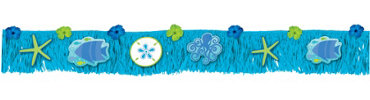 Cool Sea Fringe Banner 6ft