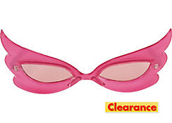 Pink Swoop Sunglasses
