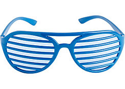 Blue Shutter Glasses