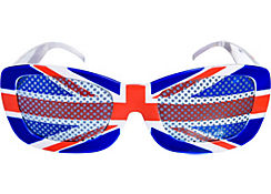 Union Jack Printed Glasses - Great Britain