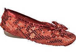 Dorothy Ruby Slipper Shoe Covers - Wizard of Oz
