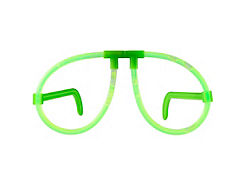 Green Glow Glasses