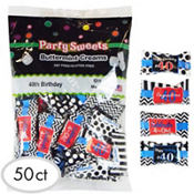 40th Birthday Pillow Mints 50ct