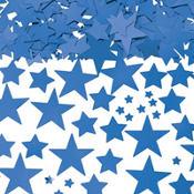 Metallic Blue Star Confetti