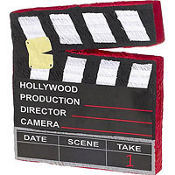 Movie Scene Marker Pinata 18in