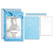 Baby Boy Printable Announcement Kit 50ct