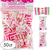 Girl 1st Birthday Pillow Mints 50ct