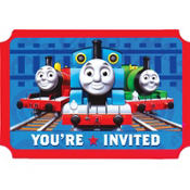 Thomas the Tank Engine Invitations 8ct