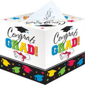 Colorful Graduation Card Holder Box