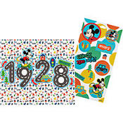 Mickey Mouse Sticker Sheet and Mini Poster