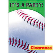 Baseball Fan Invitations 8ct