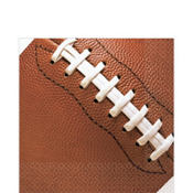 Football Fan Lunch Napkins 16ct