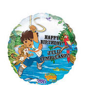 Foil Go, Diego, Go Balloon 18in