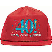 40 - A Year to Celebrate Baseball Cap