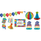 Happy Birthday Decorating Kit 10pc