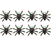 Black and Red Tip Spider Value Pack 8ct