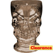Clear Plastic Skull Pitcher 48oz