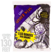 Black & White Stretchy Spider Web 3.53oz