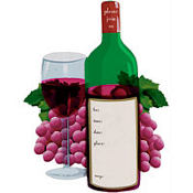 Wine Tasting Jumbo Invitations 8ct