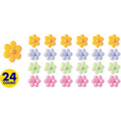 Smiley Face Flower Rings 24ct