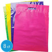 Bright Color Jumbo Favor Bags Assorted 8ct