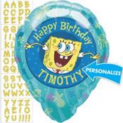 SpongeBob Balloon - Personalized