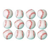 Baseball Bouncing Balls 1.38in 12ct