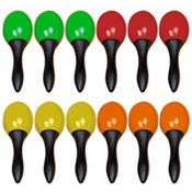 Party Maracas 5in 12ct
