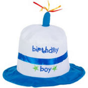 Birthday Boy Cake Hat
