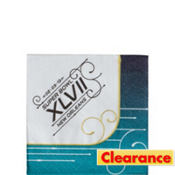 Super Bowl Beverage Napkins 32ct