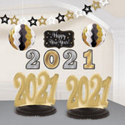 Gold & Silver 2013 Decorating Kit 10pc