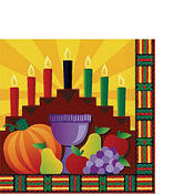 Kwanzaa Lunch Napkins 16ct