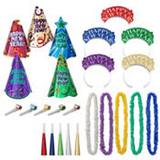 Let's Party New Years Party Kit for 10