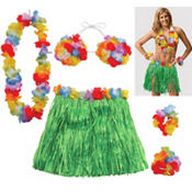 Adult Large Hula Skirt Kit